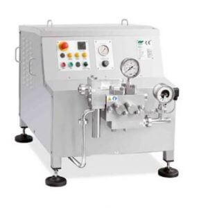 fbf high pressure dairy homogeniser - 50-2100 l/hour