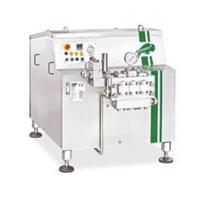 fbf high pressure homogeniser - 2200-6000 l/hour