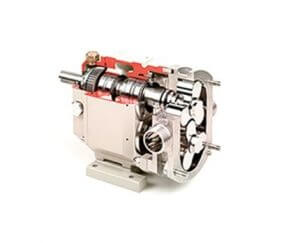 omac rotary lobe pump - series b